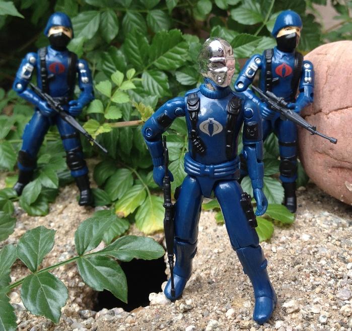 Cobra Mortal, Bootleg, Black Major Custom, Cobra Troopers,