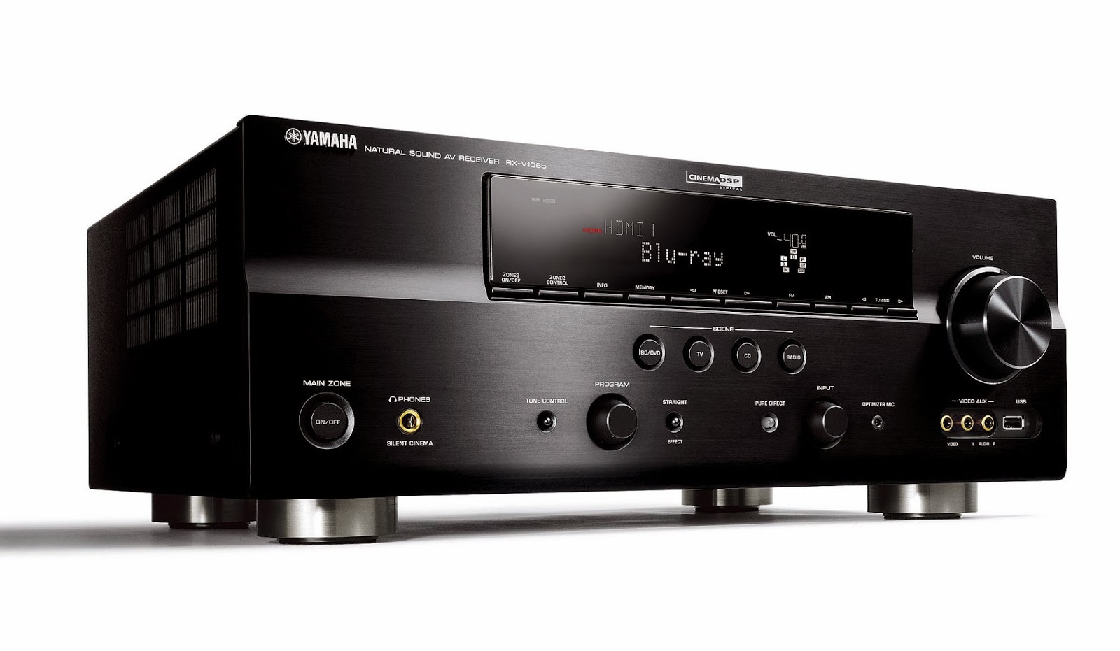 yamaha rx v1065 av receiver audiobaza. Black Bedroom Furniture Sets. Home Design Ideas
