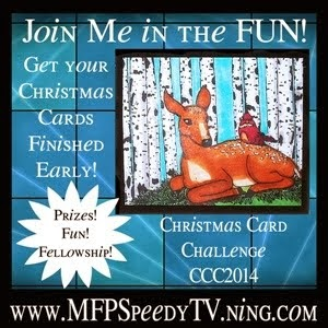 Join the Christmas Card Challenge on Speedy TV.