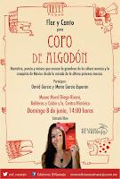 Flor y canto para Copo de Algodón en el Museo Mural Diego Rivera el 8 de junio
