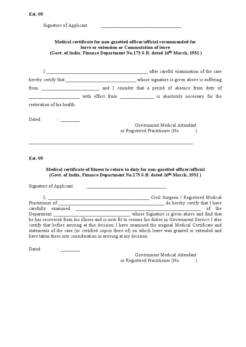 Medical Certificate Format Medical Certificate Template Microsoft – Medical Certificate Format