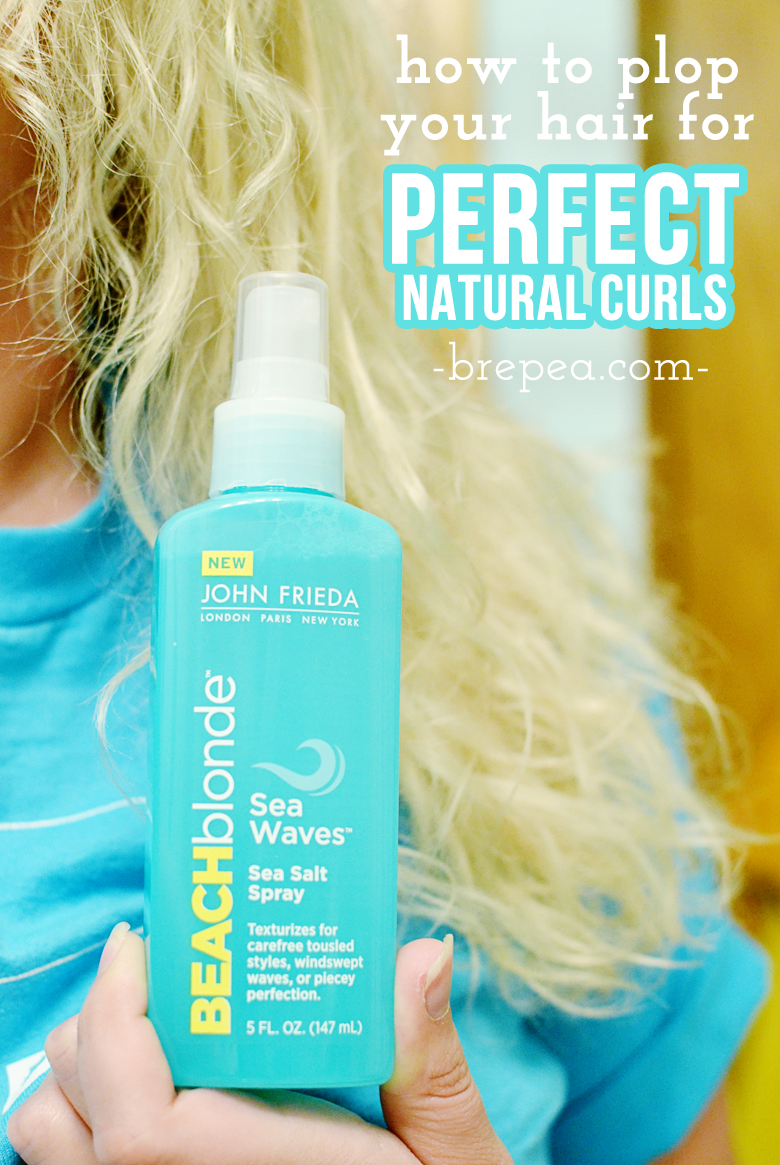 Learn how to do this super easy curly hair style: plopping! How to plop your hair is so quick and easy, and you'll end up with gorgeous natural curls.