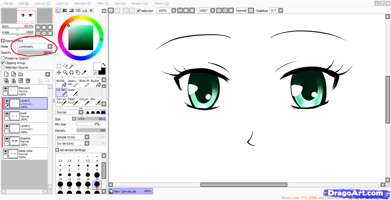Pin Pin-tool-sai-anime-eyes-tutorial-fancy-cursive-letters-copy-and-paste on Pinterest