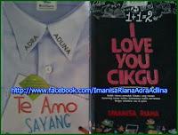 Klik gambar utk ke halaman novelis Imanisa Riana dan Adra Adlina. Menangi hadiah yg ditawarkan.