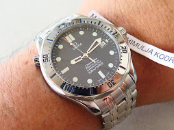 OMEGA SEAMASTER PROFESSIONAL CHRONOMETER 300m JAMES BOND BLACK WAVE DIAL - AUTOMATIC