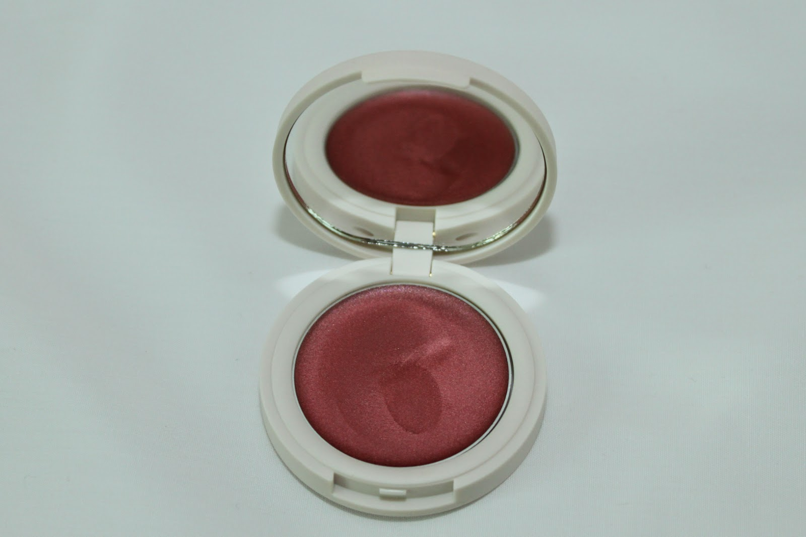 TOPSHOP METALLIC CREAM BLUSH - AORTA