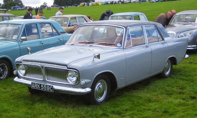 Mobil Antik Ford Zephyr Light Blue