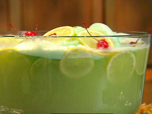 Paula Deen Cake Recipes: Lime Sherbet Punch