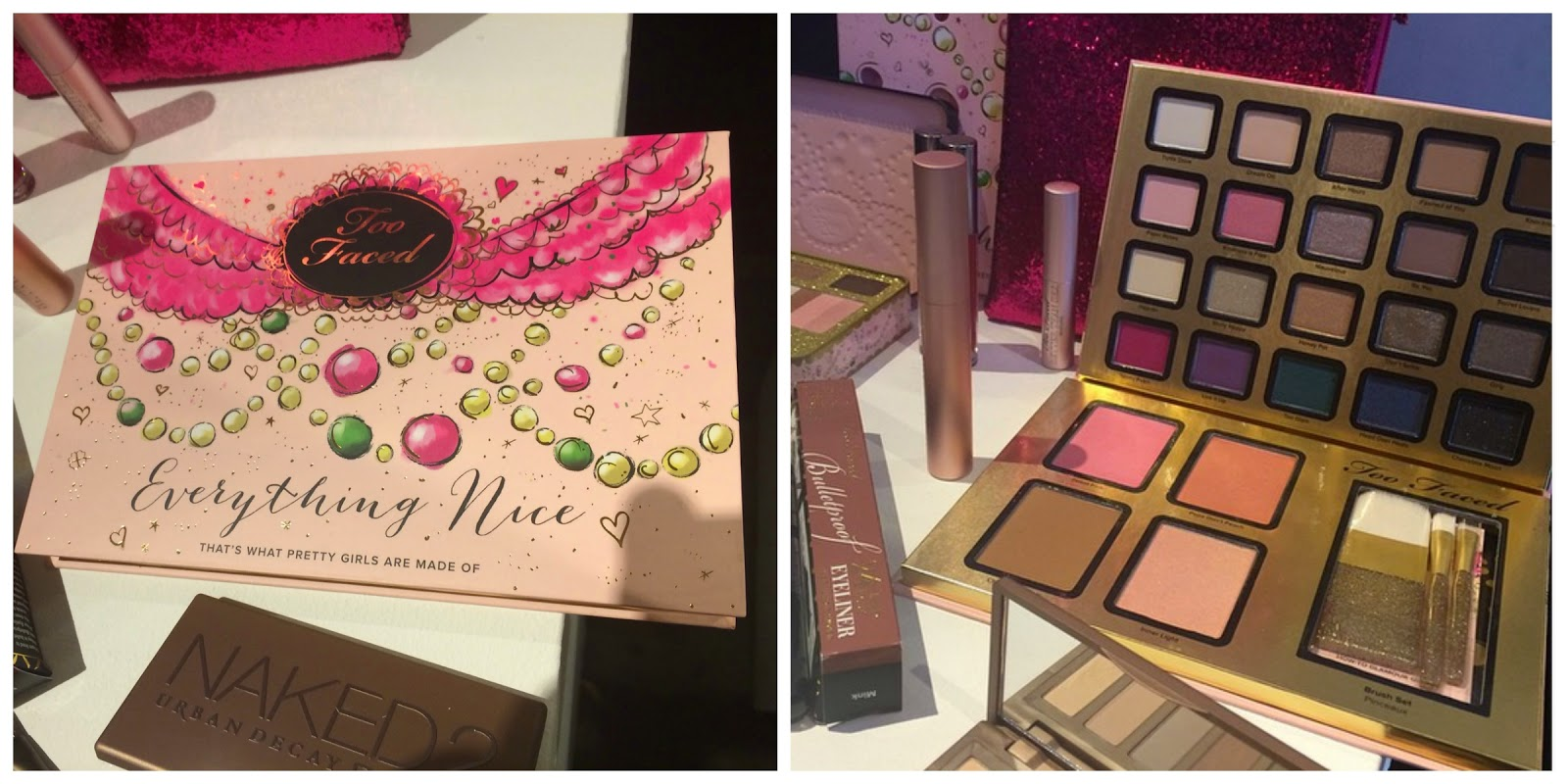 Too Faced Everything Nice Palette Christmas 2014