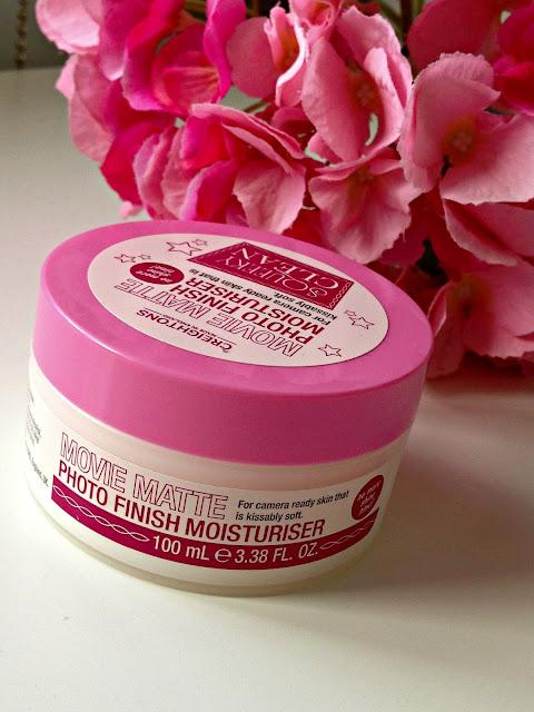 squeaky clean matte moisturiser