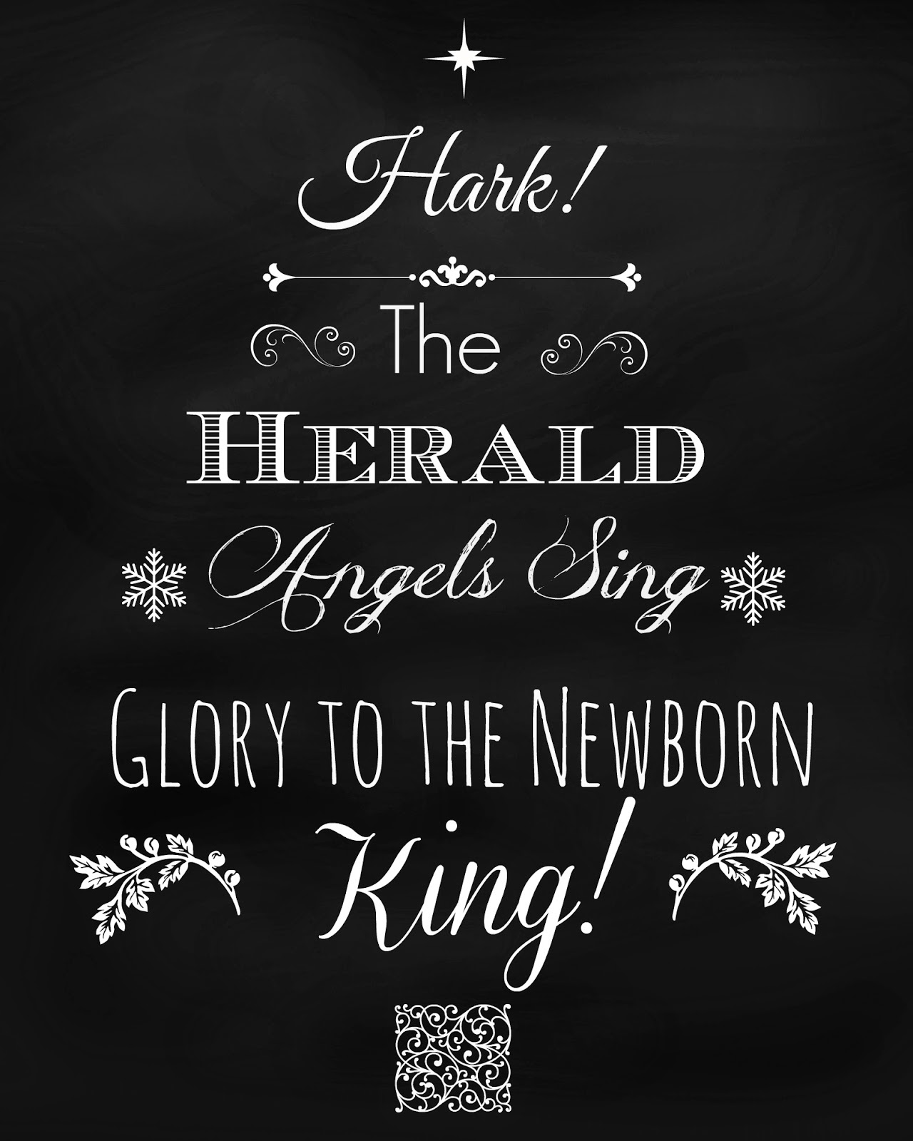 hark the herald angels sing lyrics pdf