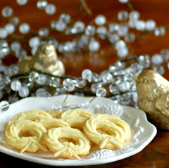 Danish Almond Wreath Cookies