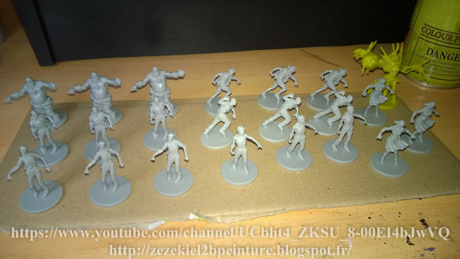 Zezekiel2b peinture blog zombicide test quickshade the for Porte zombicide