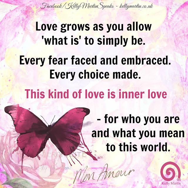Inner Love Inner Peace quote