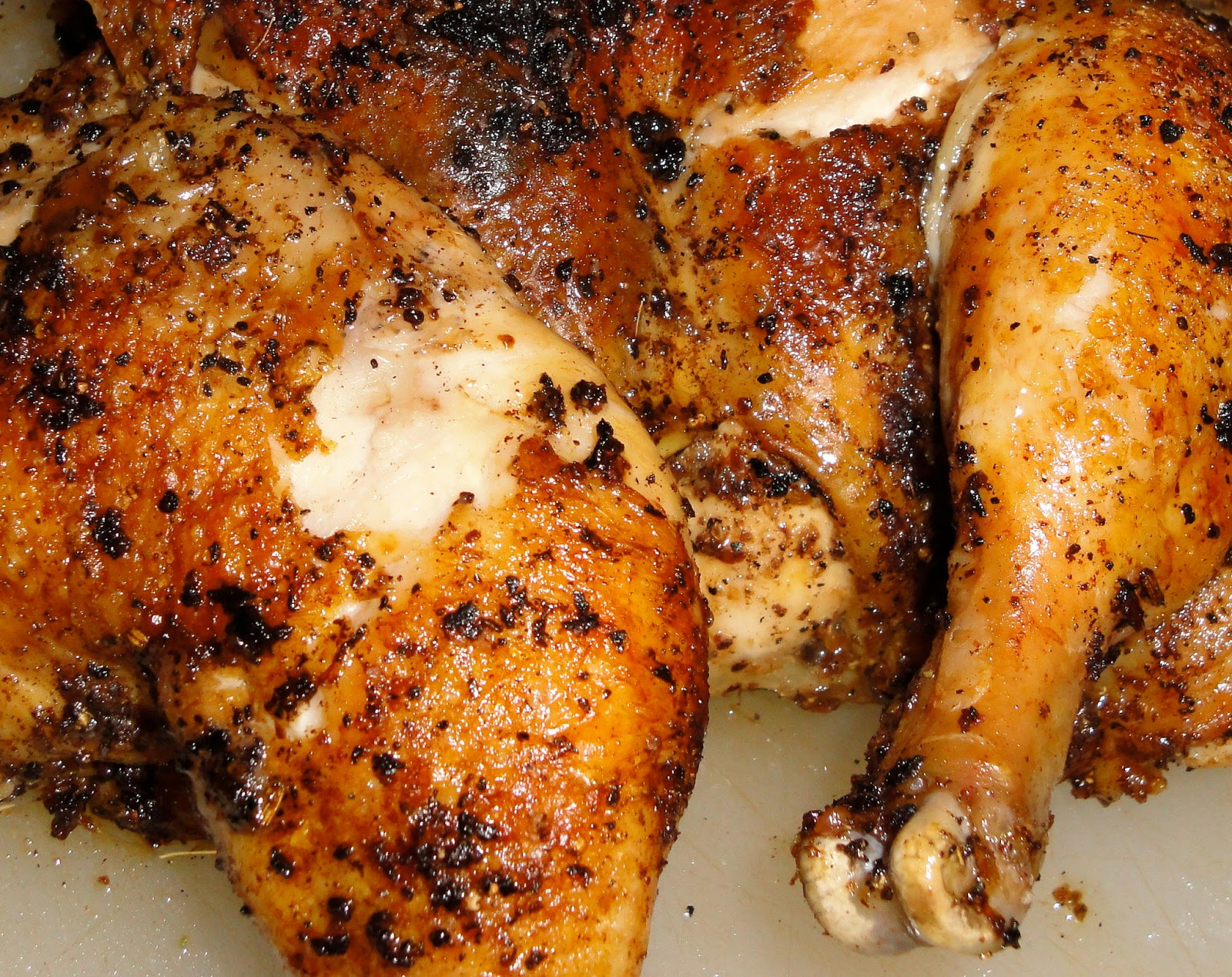 Soulfoodqueen roasted chicken leg quarter roasted chicken leg quarter forumfinder Images