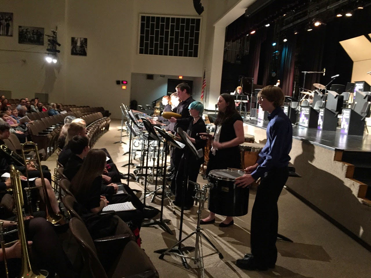 Downers grove north fine arts jazz ensemble and student for Interno 1 jazz council