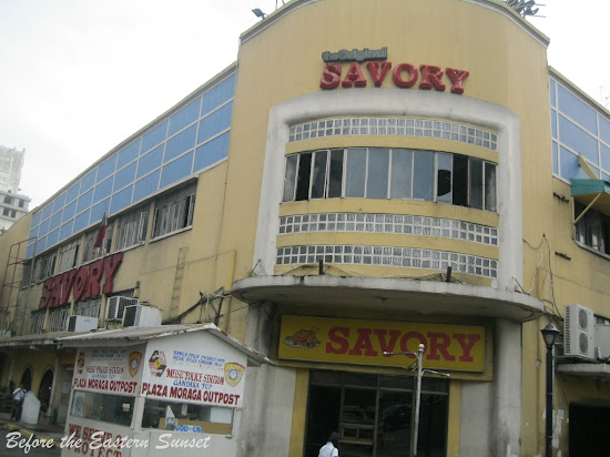 Savory Restaurant located along Kalye Escolta.