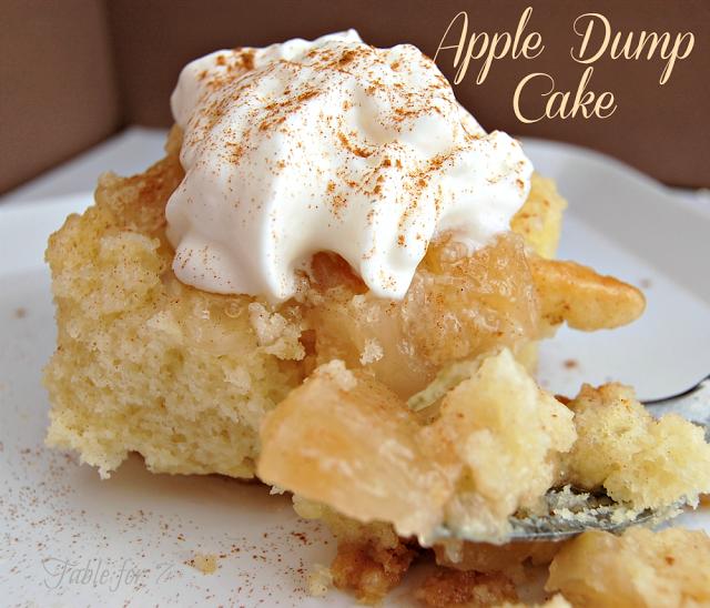 Quick Apple Cake Mom