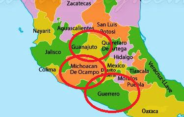 Leon Guanajuato Map