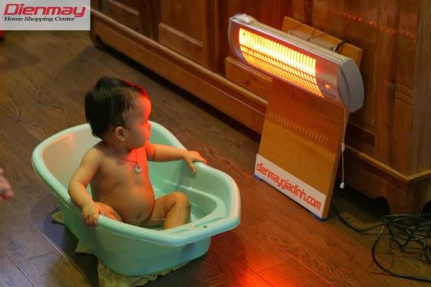 Đèn sưởi ấm cho bé