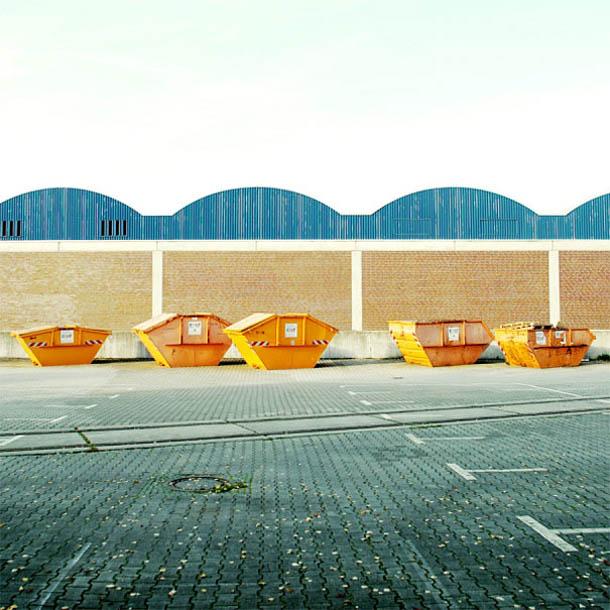Paisagens urbanas minimalistas - fotografia de Matthias Heiderich