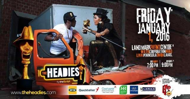 #TheHeadies2015: Check Out The Full List Of Nominees As Nigeria's Prestigious Music Award Goes Down Tonight