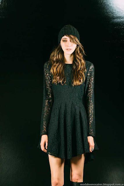 Ona Saez vestidos ootoño invierno 2015 moda mujer.
