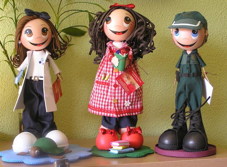 Fina, Rosa y Pablo