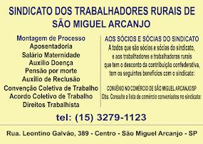 SINDICATO DOS TRABALHADORES RURAIS DE SÃO MIGUEL ARCANJO