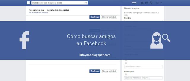 Cómo buscar amigos en Facebook