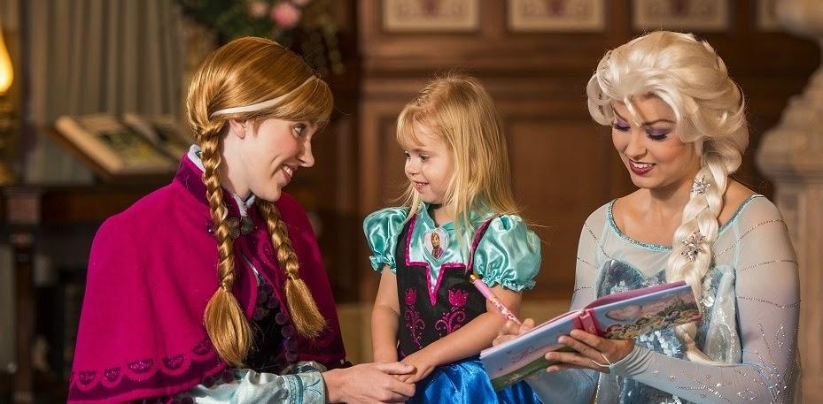 Onde encontrar as princesas Anna e Elsa Orlando