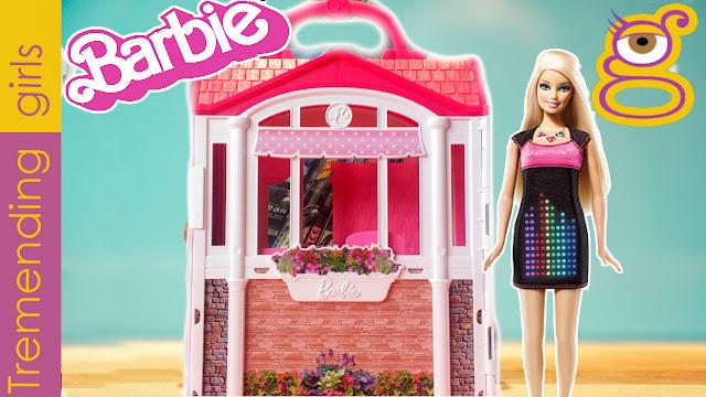 Barbie Casa Vacaciones -  Barbie Casa Glam - juguetes Barbie toys