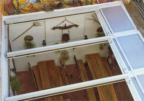 Especialistas en techos m viles de cristal cerramientos for Cerramientos patios interiores