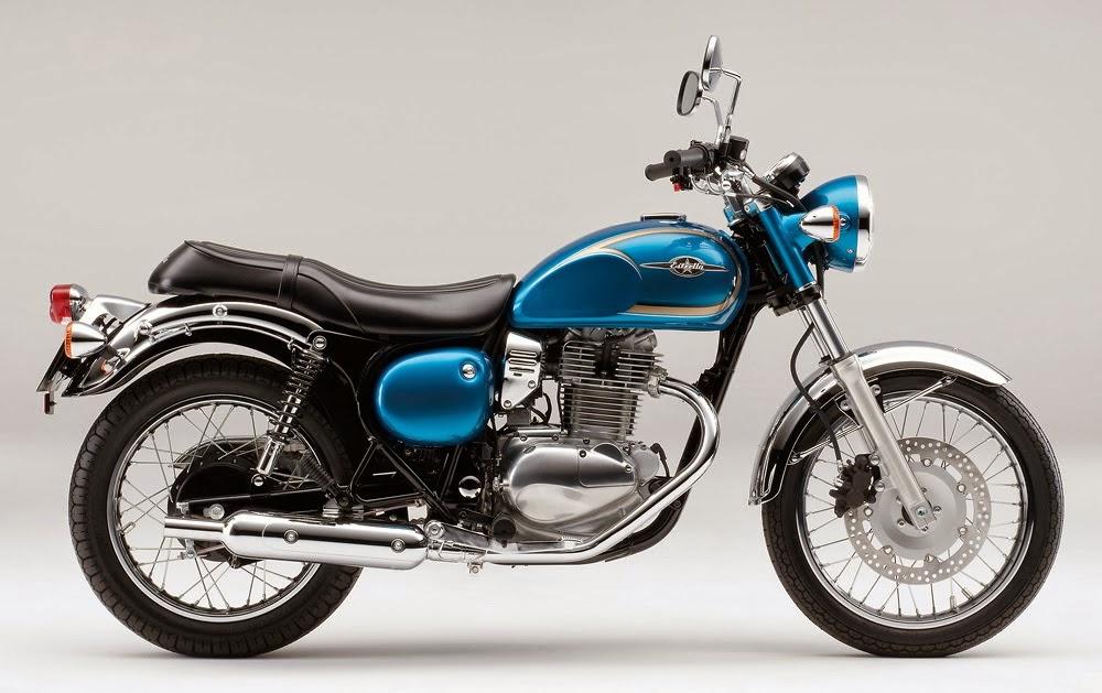 Foto Kawasaki Estrella 250 2014 Spesifikasi-Harga Motor Klasik Retro Terbaru
