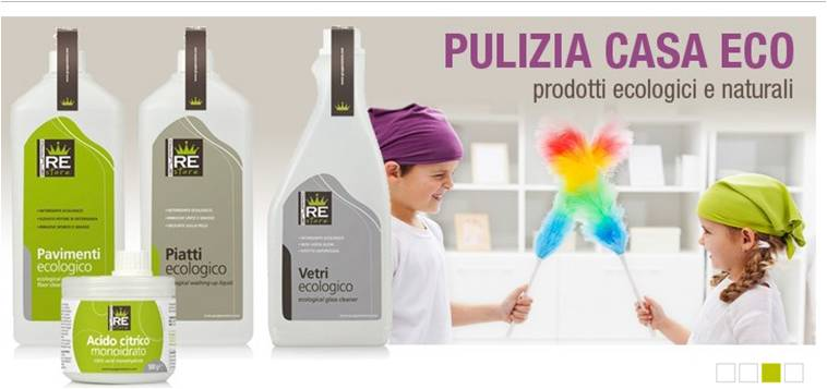 Euro contest gruppo re store prodotti ecologici per la - Prodotti ecologici per la pulizia della casa ...