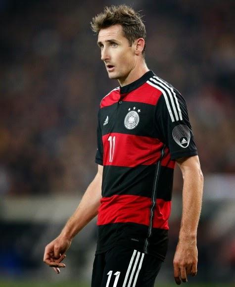 8348b1a321ca2 Os caras da Copa do Mundo  Miroslav Klose - Alemanha Futebol Clube