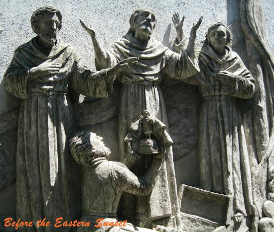 Bas-relief, Basilica Minore del Santo Nino