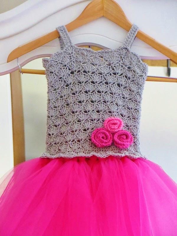 Tutu Dress Crochet Pattern, Crochet Baby Dress Pattern ...