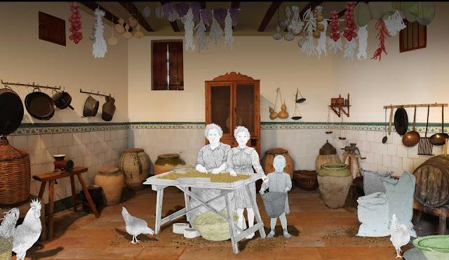 Museo comarcal de L`Horta Sud, estancia, porrat 2