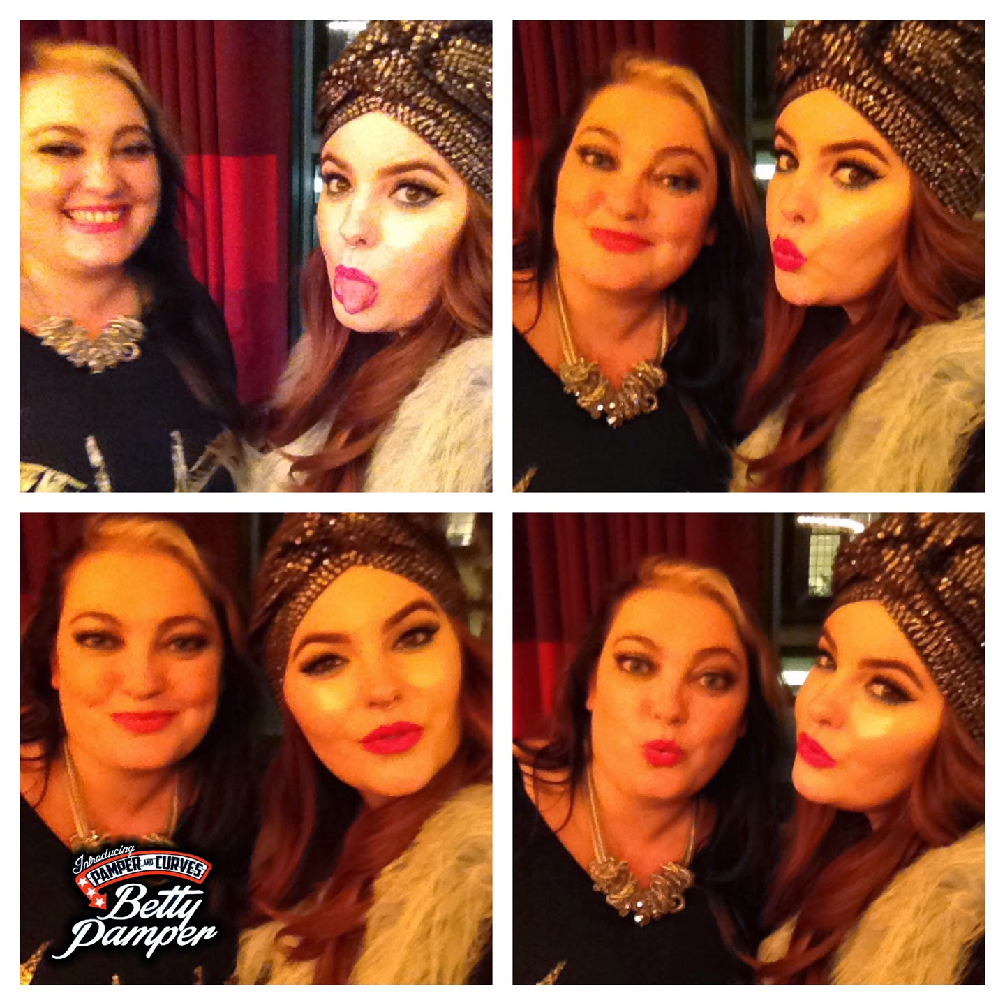 Betty pamper and Tess Holliday