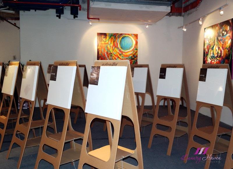 arteastiq tea house social art jam studio review
