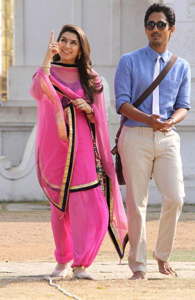 siddarth hansika something something movie stills5