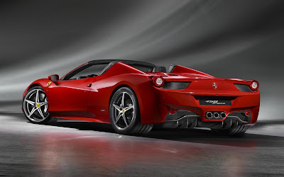 2012 Ferrari 458 Spider Wallpaper