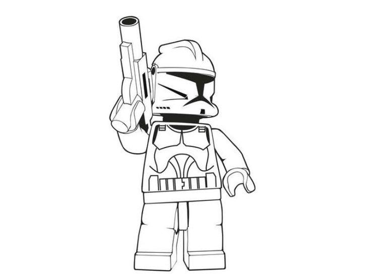 star wars lego coloring pages - desenhos para colorir e imprimir desenhos da lego para