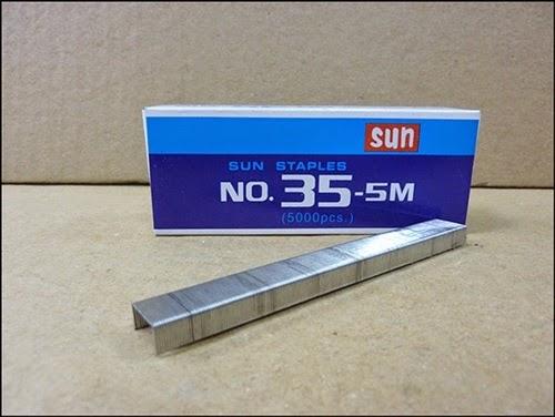 ลวดเย็บกระดาษ Sun (No.35-5M)
