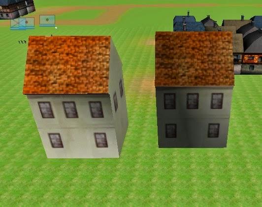 街を作ろうとメタセコイアで家をモデリングし、blenderでFBXで書き出したところ陰影がおかしくなった(写真右)。シェーダーなど3Dの知識は全く無いので弱ったが、OBJ