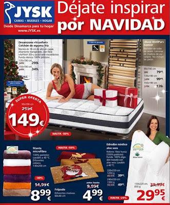 jysk ofertas navideñas 9-15 Dic.2013
