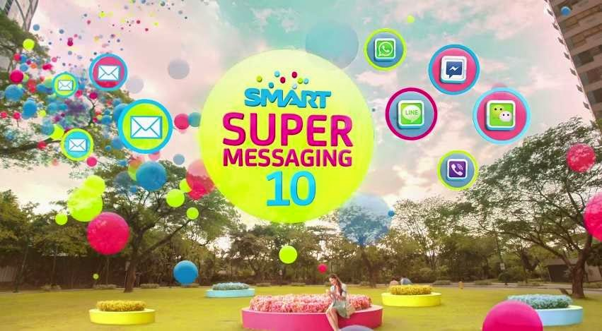 Smart SUPER 10 Unli Chat and Text