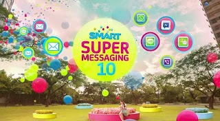 Smart Super Messaging 10, Unli Text and Chat Promo