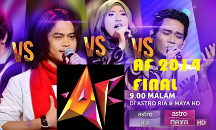 Konsert AF 2014 Final Minggu 10